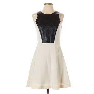 Kensie black & white snakeskin dress -sz 4